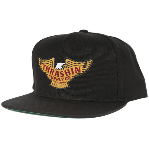 The Golden Eagle Black SnapBack