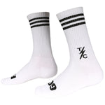 Striped Socks - White