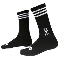 Striped Socks - Black