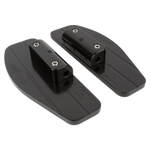 Bagger Passenger Floorboards - Black
