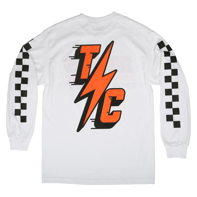 Speedway Long Sleeve Jersey - White