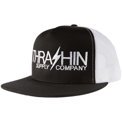 Logo Mesh Hat - Black & White