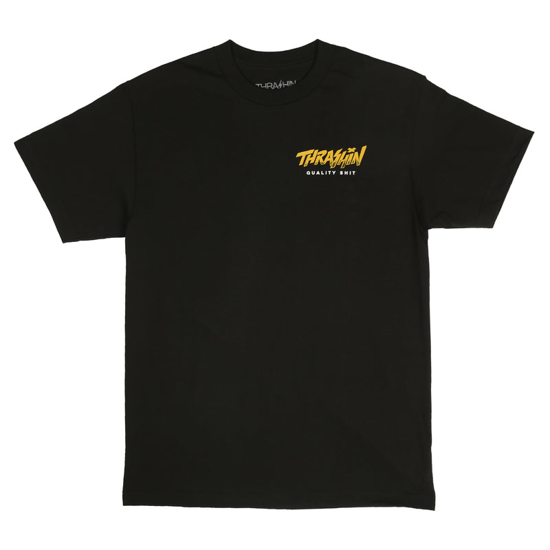 Probly Out Thrashin Tee - Black