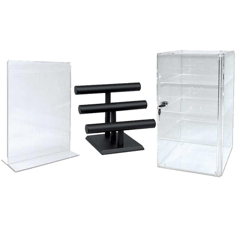 Brochure Holders & Jewellery Displays