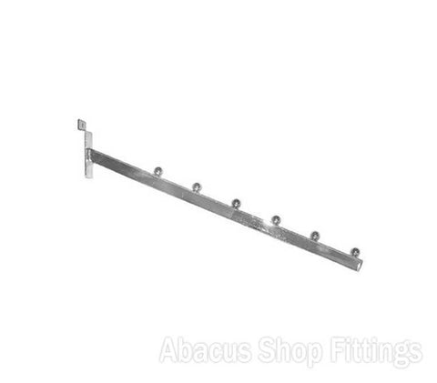 SLATWALL SLOPING ARM 6 BALL
