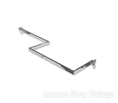 1200 X 300 Z HANG RAIL (R) 60mm Pitch