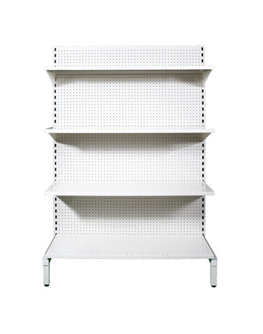 GONDOLA SGL 1400 X 1200 4 SHELF