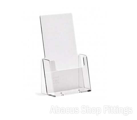 1 Pocket 1/3rd A4 DL Portrait Leaflet Holder