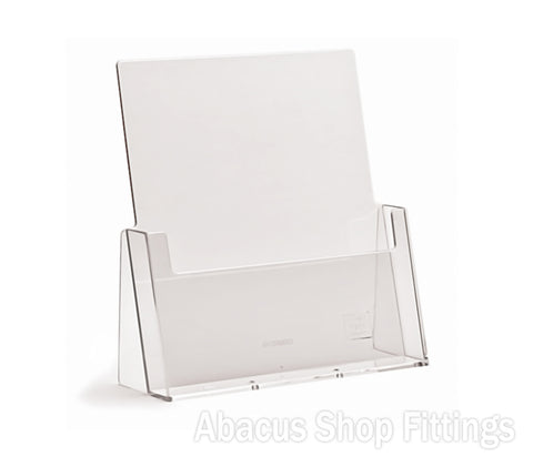 1 Pocket A4 Portrait Leaflet Holder
