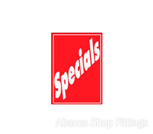 A4 SALE SIGNAGE - SPECIALS