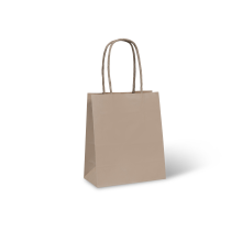 KRAFT PAPER BAG BROWN - #2 PETITE Pkt/50