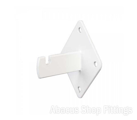 SLATGRID WALL BRACKET WHITE