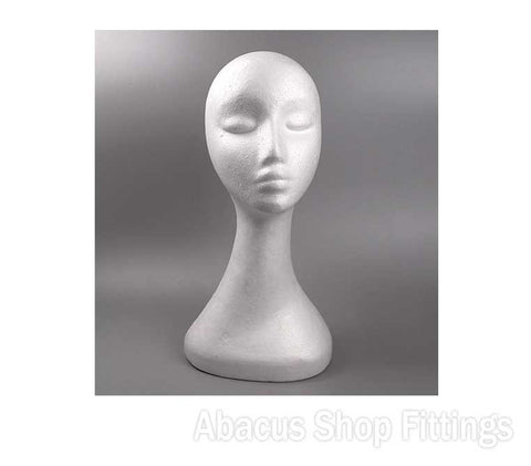 POLYSTYRENE HEAD - FEMALE