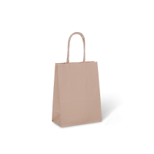 KRAFT PAPER BAG BROWN - #6 PETITE PKT/50