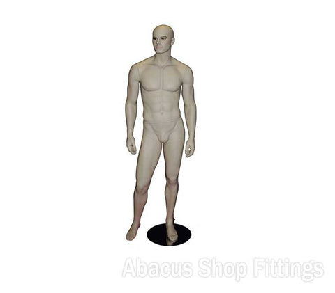 MANNEQUIN HAIRLESS WELL TONED MALE