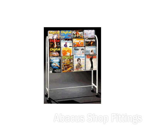 BROCHURE TROLLEY- 32 A4 HOLDERS