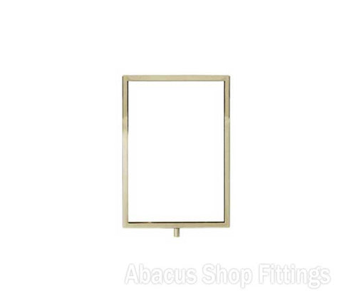 CHROME A3 PORTRAIT FRAME