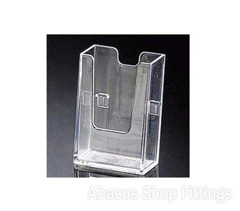 BUSINESS CARD HOLDER WITH CLIPS - VERTICAL