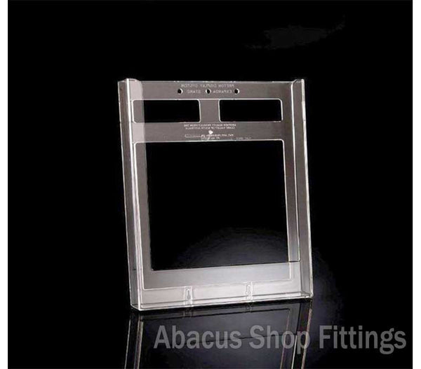 BROCHURE HOLDER FLATBACK - A4 SIZE