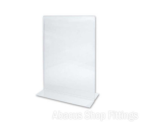A4 DOUBLE SIDED PORTRAIT SIGN HOLDER
