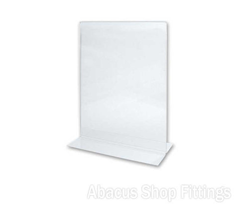 A5 DOUBLE SIDED PORTRAIT SIGN HOLDER