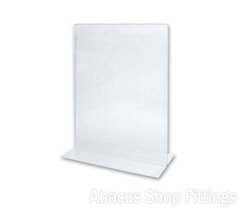 A6 DOUBLE SIDED PORTRAIT SIGN HOLDER