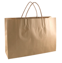 KRAFT PAPER BAG BROWN - SMALL BOUTIQUE Ctn/250