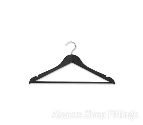 TIMBER ADULT HANGER BLACK (CTN/100)