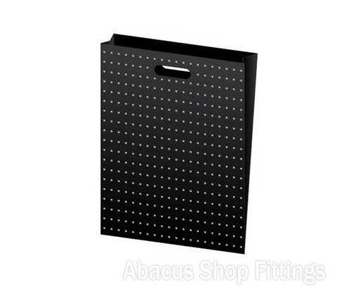 HDPE PLASTIC BAG XLARGE - BLACK WITH GOLD DOTS Pkt/100