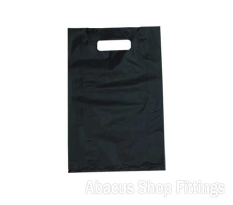 HDPE PLASTIC BAG LARGE - BLACK Ctn/500