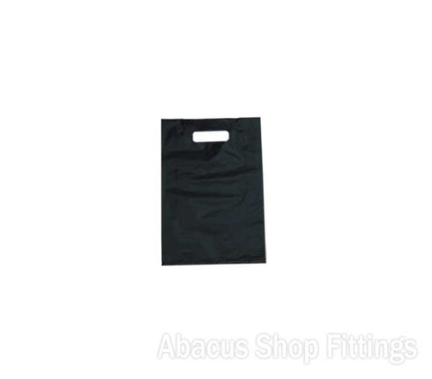 HDPE PLASTIC BAG SMALL - BLACK Pkt/100