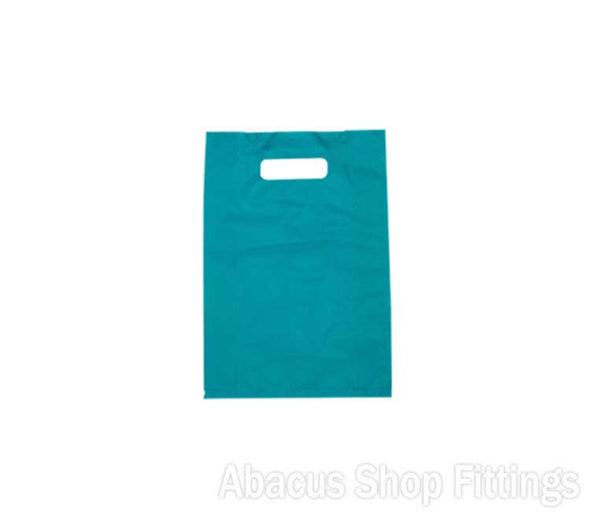 HDPE PLASTIC BAG MEDIUM - BLUE Pkt/100