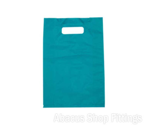 HDPE PLASTIC BAG LARGE - BLUE Pkt/100