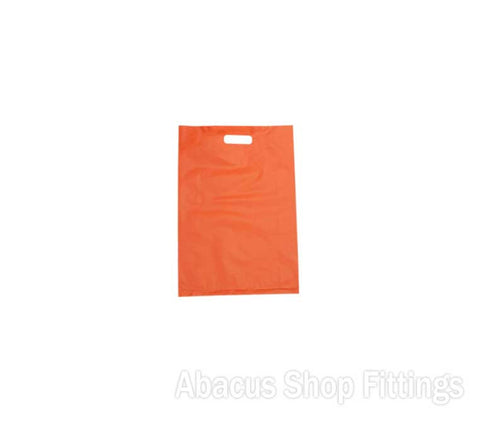 HDPE PLASTIC BAG SMALL - ORANGE Ctn/1000