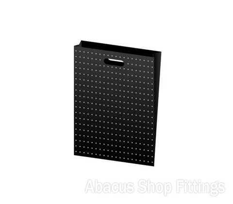 HDPE PLASTIC BAG SMALL - BLACK WITH GOLD DOTS Pkt/100