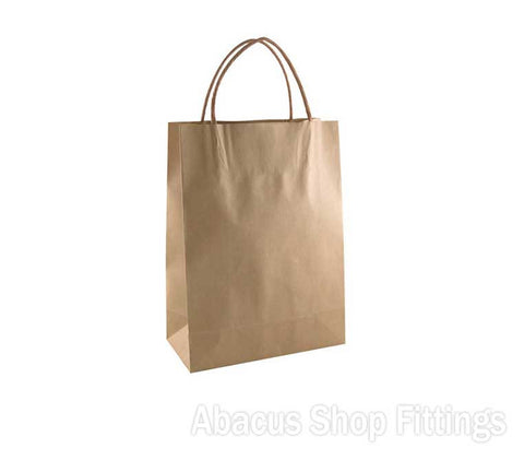 KRAFT PAPER BAG BROWN - #10 PETITE Pkt/50