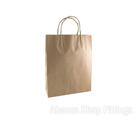KRAFT PAPER BAG BROWN - SMALL #16 Pkt/50