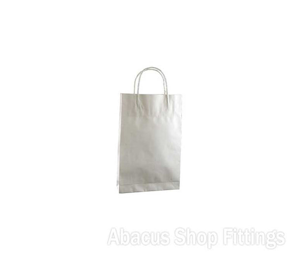 KRAFT PAPER BAG WHITE - BABY Ctn/500