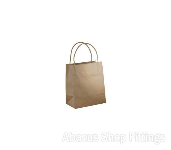 KRAFT PAPER BAG BROWN - TODDLER Ctn/500