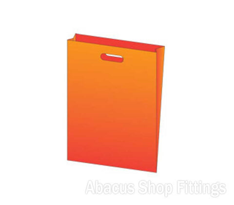 LDPE PLASTIC BAG LARGE - ORANGE Pkt/100