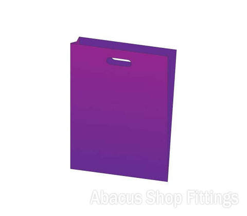 LDPE PLASTIC BAG LARGE - PURPLE Pkt/100