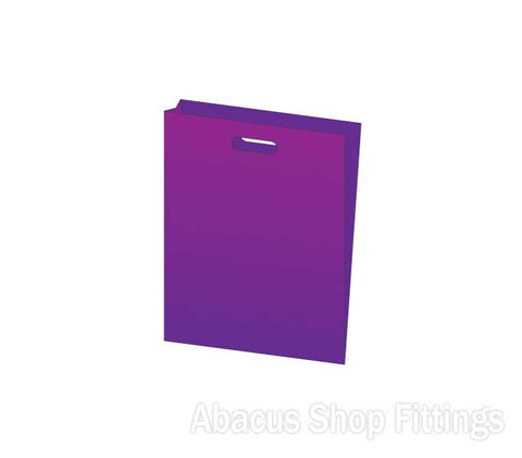 LDPE PLASTIC BAG SMALL - PURPLE Ctn/1000