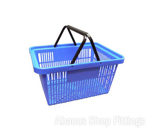 SHOPPING BASKET STANDARD BLUE