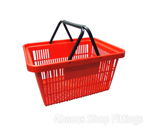 SHOPPING BASKET STANDARD RED