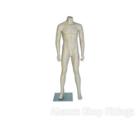 MANNEQUIN MALE  STANDARD H/LESS