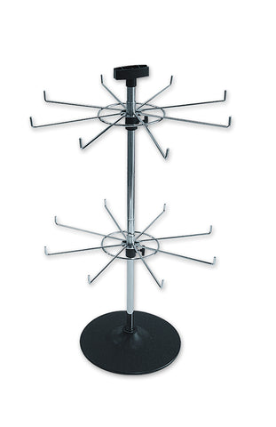 SPINNER - 8 PRONG COUNTER STAND