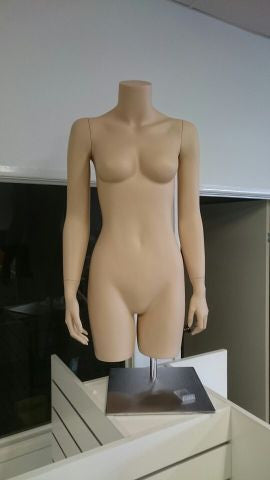 FEMALE TORSO SKIN TONE COUNTER STAND