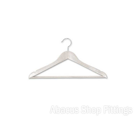 TIMBER ADULT HANGER WHITE (CTN/100)