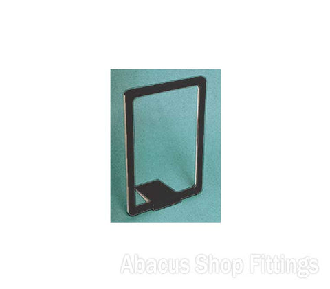 BASE FOR PLASTIC FRAMES - BLACK