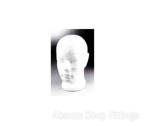 POLYSTYRENE HEAD - CHILDRENS
